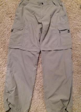 Отличные брюки- трансформеры в спортивном стиле.48-50р.