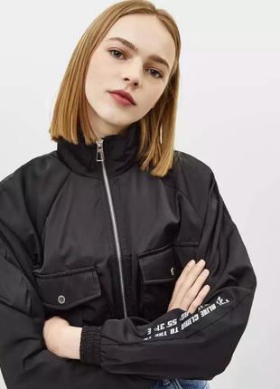 Куртка укорочённая, bershka