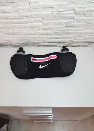 Оригинальная спортивная сумка на пояс с бутылками nike
