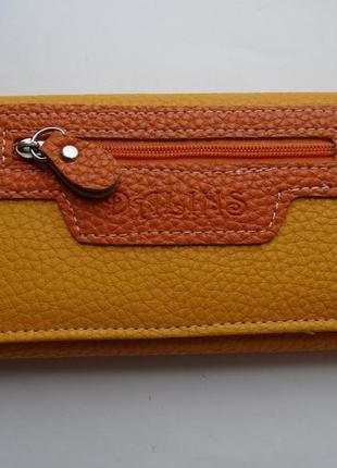 Яркий кошелёк под ровную купюру. новый.