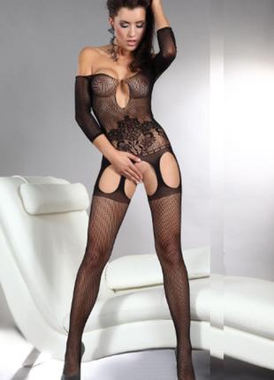 5-150 сексуальная боди-сетка комбинезон в упаковке/ сексуальное белье/ эротическое белье