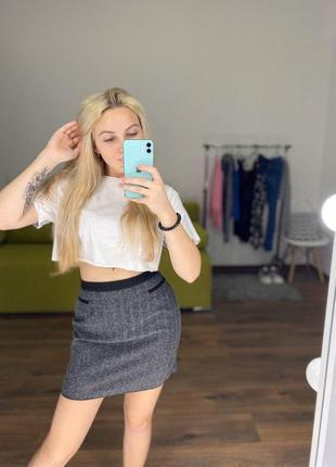 Шикарная юбка завышенная
