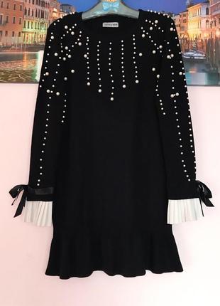 Шикарное платье с бусинами , туника