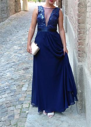 Вечернее платье от quiz london