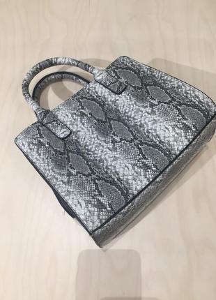 Новая сумка с принтом змея сумочка через плечо