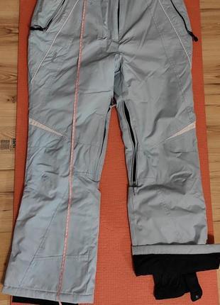 Женские лыжные горнолыжные сноубордические штаны