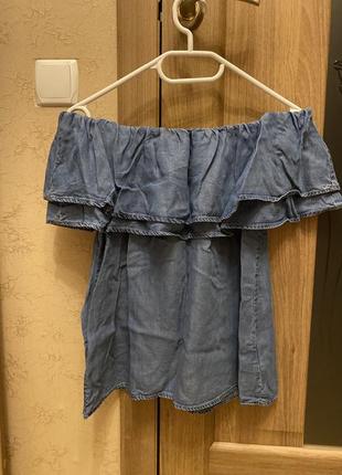 Блуза джинсовая new look