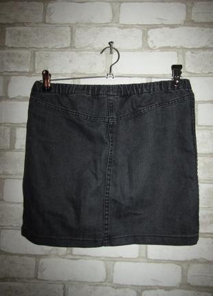 Джинсовая юбка р-р s бренд h&m2 фото