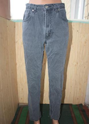 Стильные мом джинсы / mom jeans dorothy perkins  серые