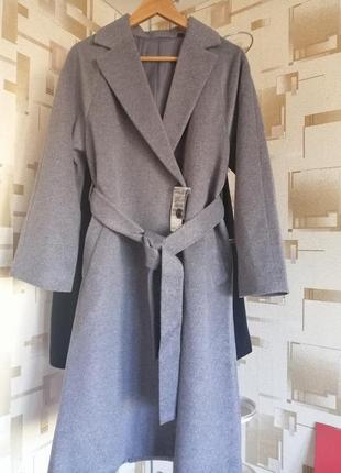Пальто uniqlo шерсть