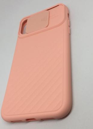 Чехол iphone 11  📲 айфон xr силиконовый персик 🍑