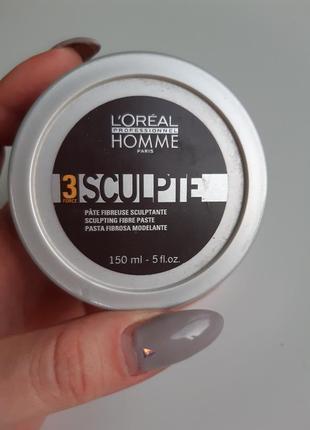 Паста для волос sculpte loreal professional