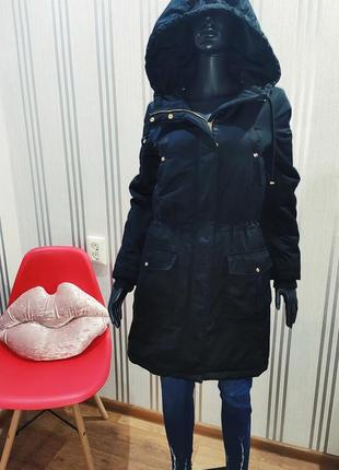Отличная стьоганая парка vero moda