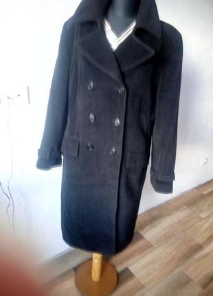 Пальто ангора,шерсть 50 размер