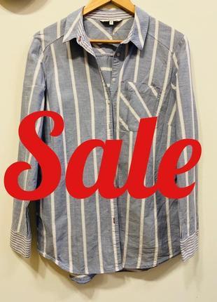 Рубашка next p.14/42 100% cotton #308. -50% на весь товар до 14.02.2020