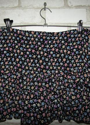 Летняя юбка р-р xs-s бренд castro