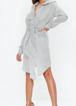 Missguided. это не сток! товар из англии. платье рубашка в фешенебельном дизайне.