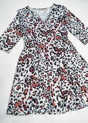 ❤️милое эластичное платьице2 фото