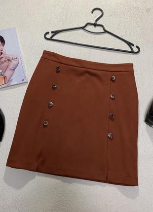 Стильная юбка, размер м,большимерит