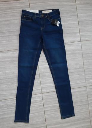 Фирменые джинсы esmara skinny fit шикарная утяжка идеальная фигура р евро 44