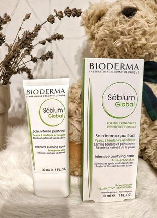 Bioderma sebium global крем