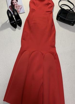 Шикарное платье бюстье,размер s