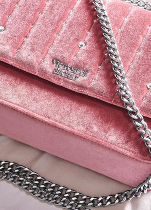 Сумочка velvet stud small bond street shoulder bag