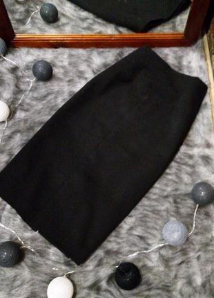 Базовая юбка карандаш из костюмной ткани warehouse