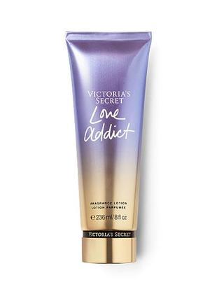 Фирменный лосьон для тела love addict  от victoria`s secret с парфюмом
