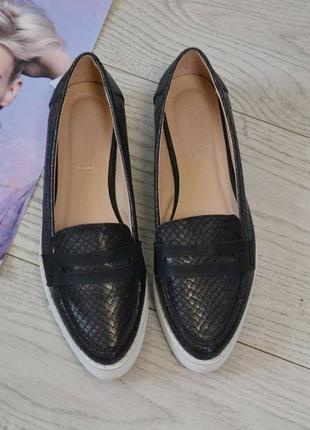 Стильные слипоны topshop туфли  мокасины