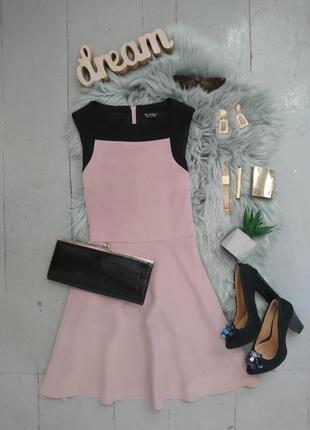 Стильное классическое платье с расклешенной юбкой №54max