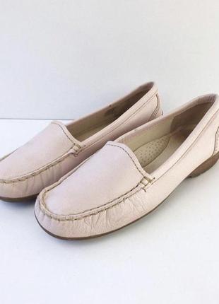 Нереально комфортные кожаные туфли clarks