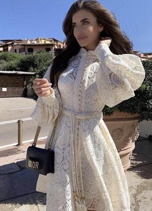 Кружевное платье , платье на пуговках2 фото