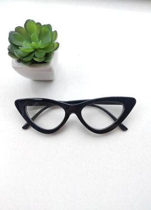 Имиджевые очки лисички