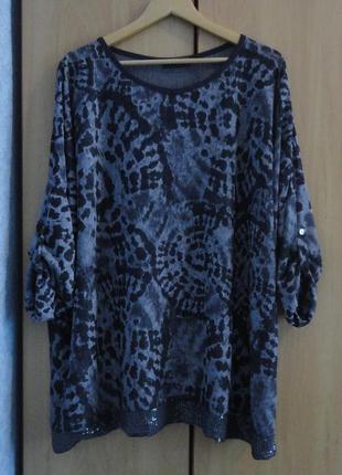 Супер брендовая блуза блузка хлопок италия pescara