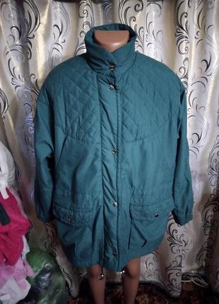 Женская демисезонная куртка большого размера damart