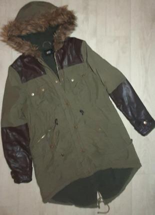 Парка, куртка, зимняя, демисезонная
