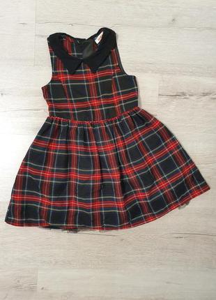 Платье в клеточку bluezoo