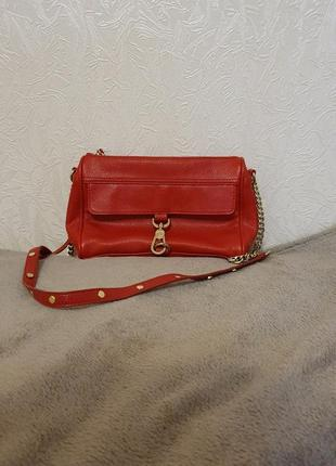Красная сумочка forever 21