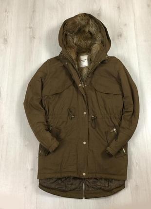Женская зимняя куртка pimkie удлиненная длинная