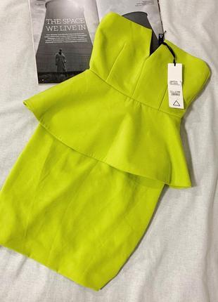 Шикарное платье бюстье aq/aq