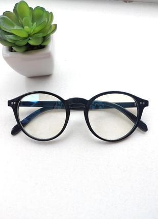 Имиджевые очки с линзой антиблик