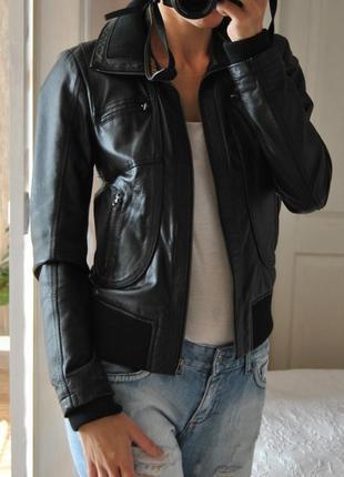 Кожаная куртка only / шкіряна куртка