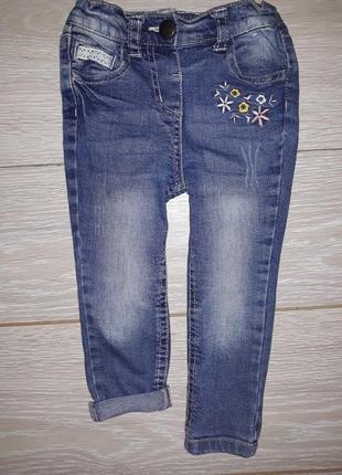 Милые джинсы denim co на 12-18 мес 2016г