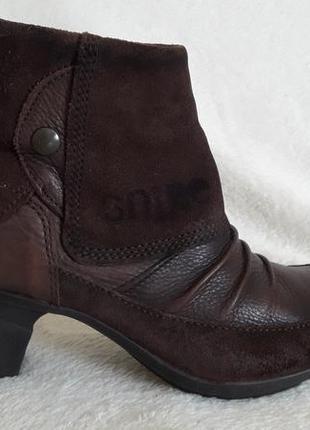 Шикарные кожаные ботинки фирмы snipe ( португалия)