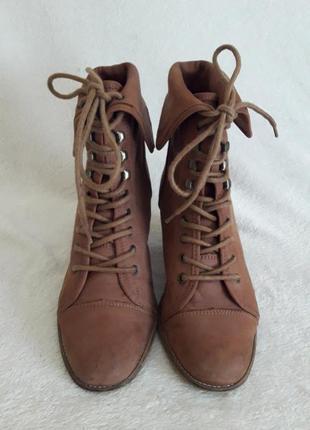 Кожаные ботинки фирмы max shoes - (швейцария)