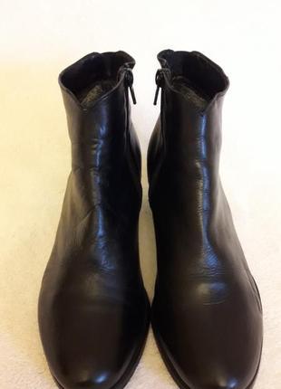 Кожаные ботинки фирмы pasito ( италия)