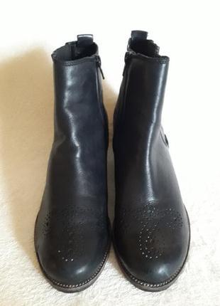 Шикарные кожаные ботинки фирмы kennel & schmenger