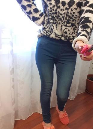 Отличные джинсы скинни р.36-38р.