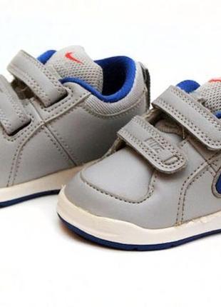 Кожаные кроссовки nike. размер 19,5